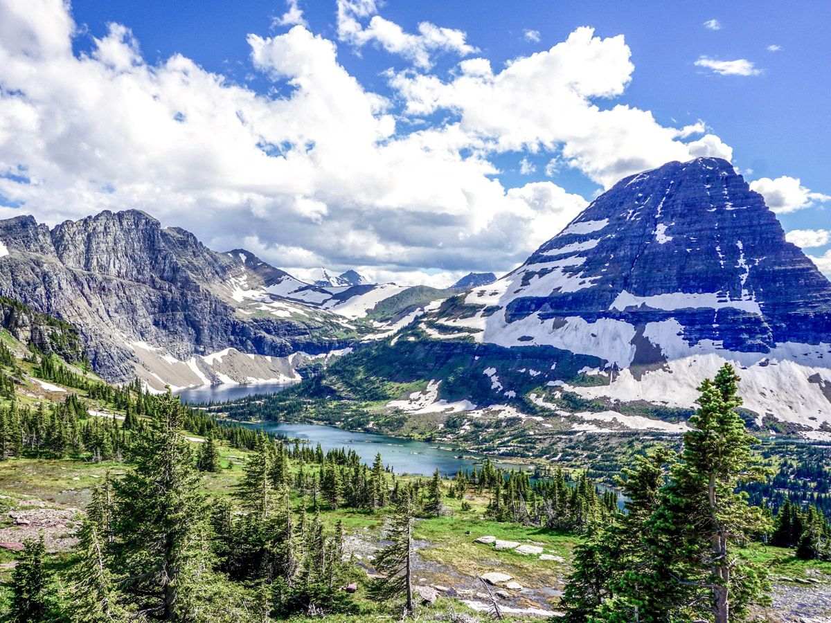 Hidden Lake Overlook Hike in Glacier National Park, Montana