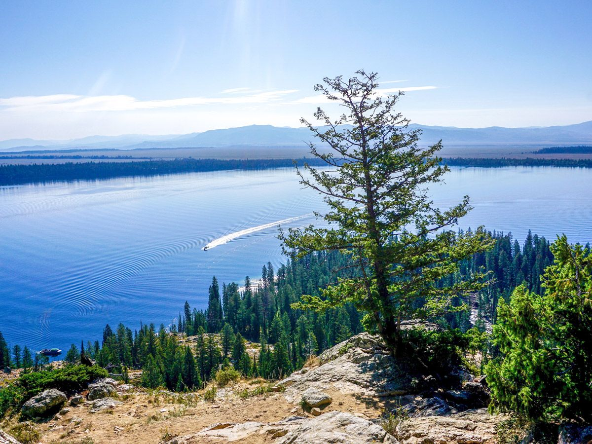 Inspiration Point Hike at Grand Teton National Park | 10Hikes.com