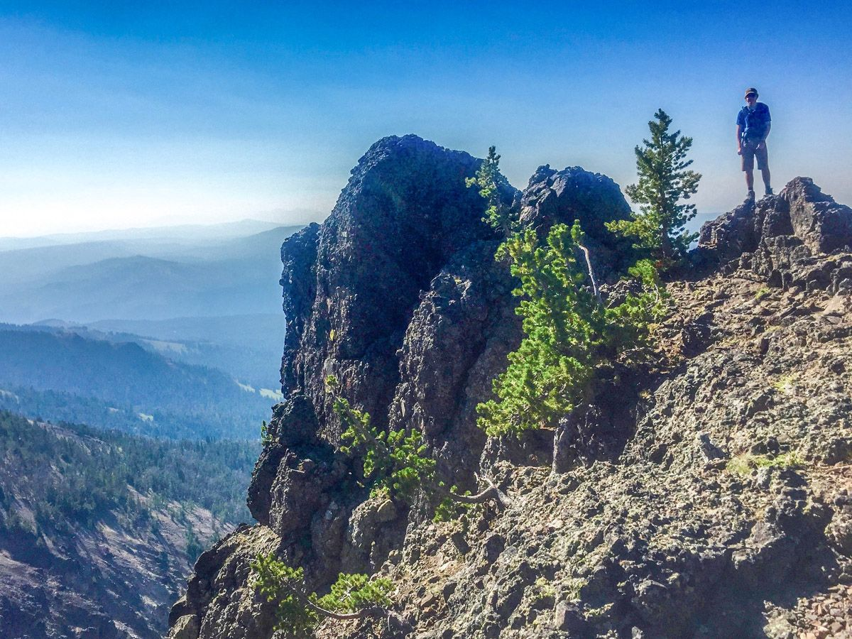 Mount Washburn is a must-see peak in Yellowstone National Park