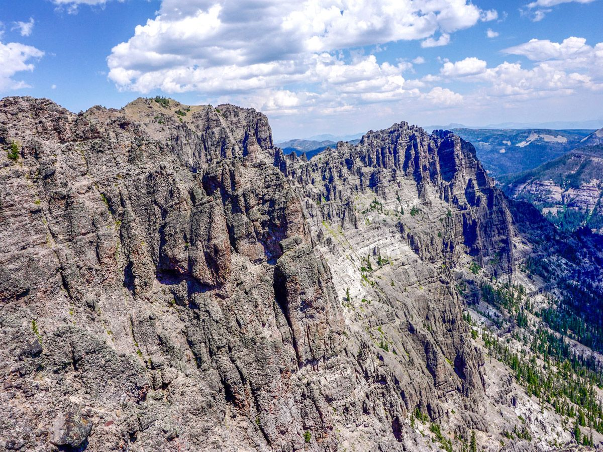 Sky Rim Hike is one of 10 best Yellowstone hikes