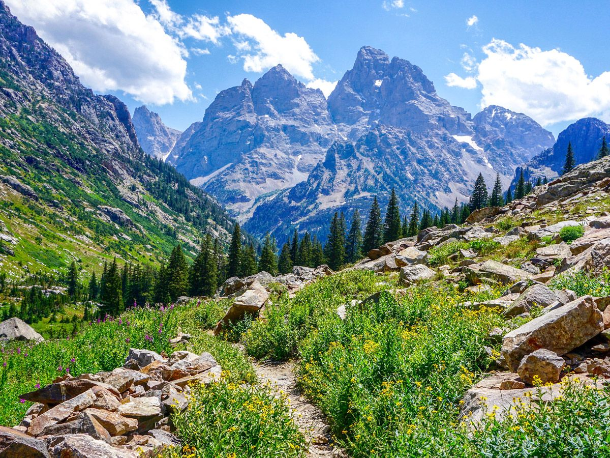 Lake Solitude hike is one of 10 best hikes in Grand Tetons