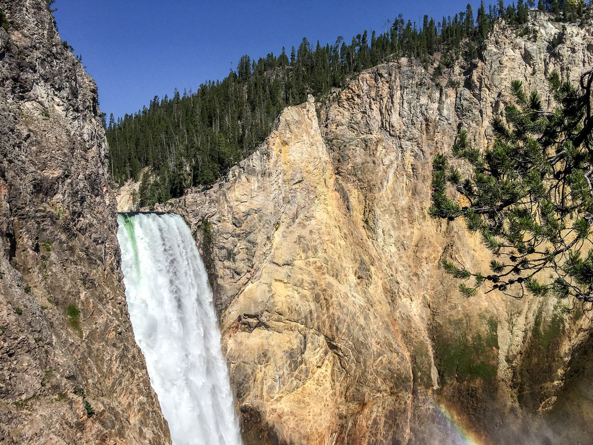 South Rim Hike is one of 10 best Yellowstone hikes
