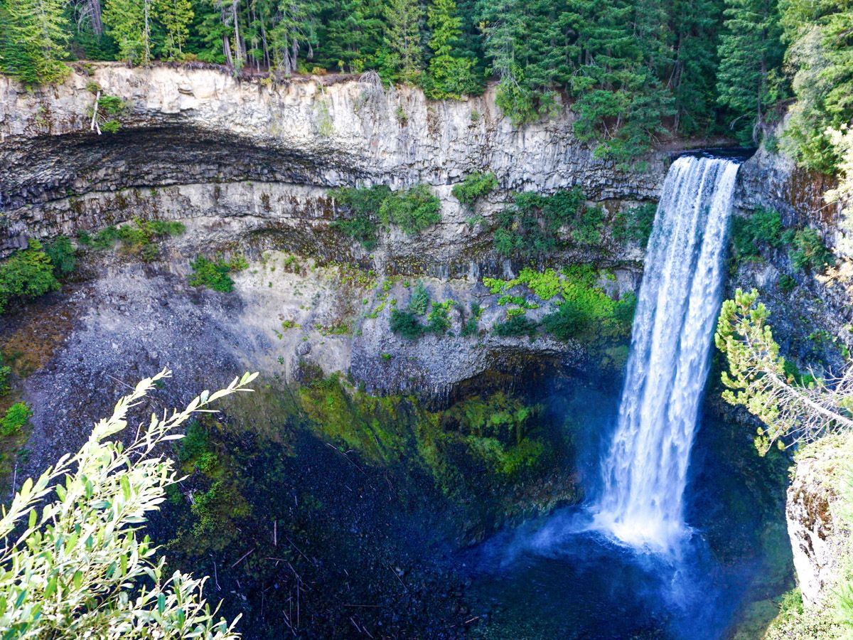 Brandywine Falls trail is one of top 10 best hikes in Whistler, British Columbia