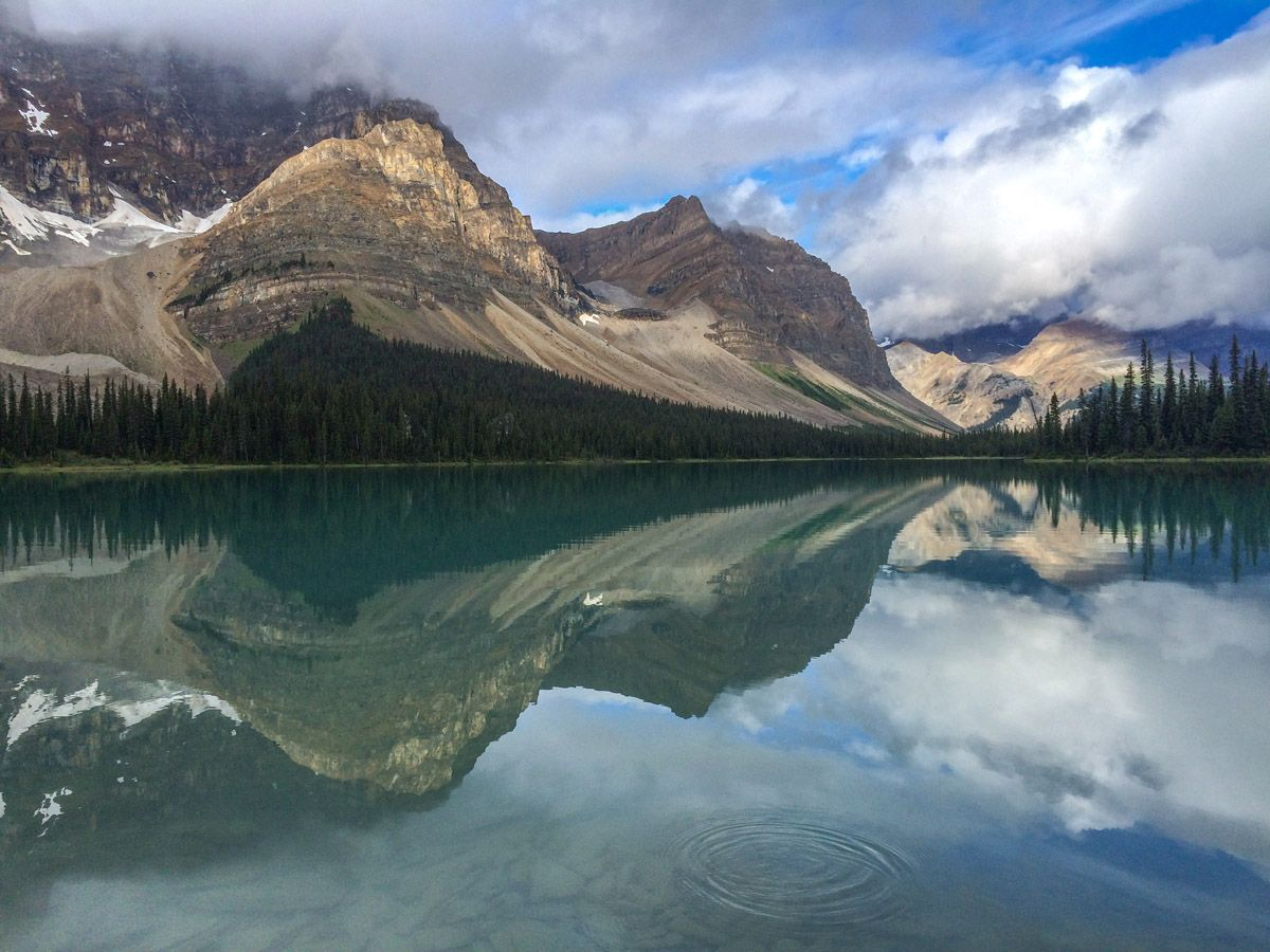 Crowfoot Pass and Balfour Viewpoint Hike is one of the best hikes along Icefields Parkway