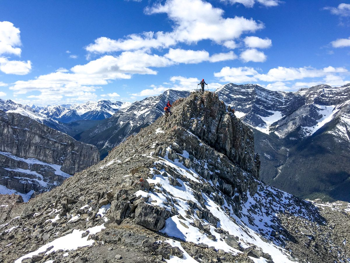 Views from the Ha Ling Peak, Miners Peak & The Three Humps Hike from Canmore, the Canadian Rockies