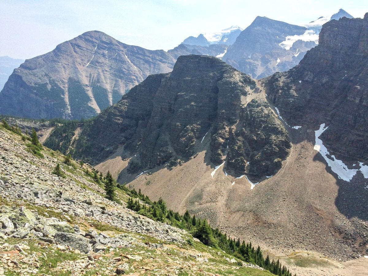 Mount St. Piran hike is one of best Lake Louise hikes