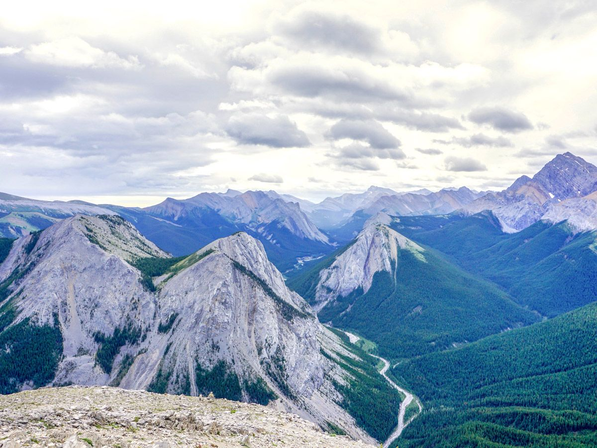 Sulphur Skyline trail is one of top 10 Jasper hikes