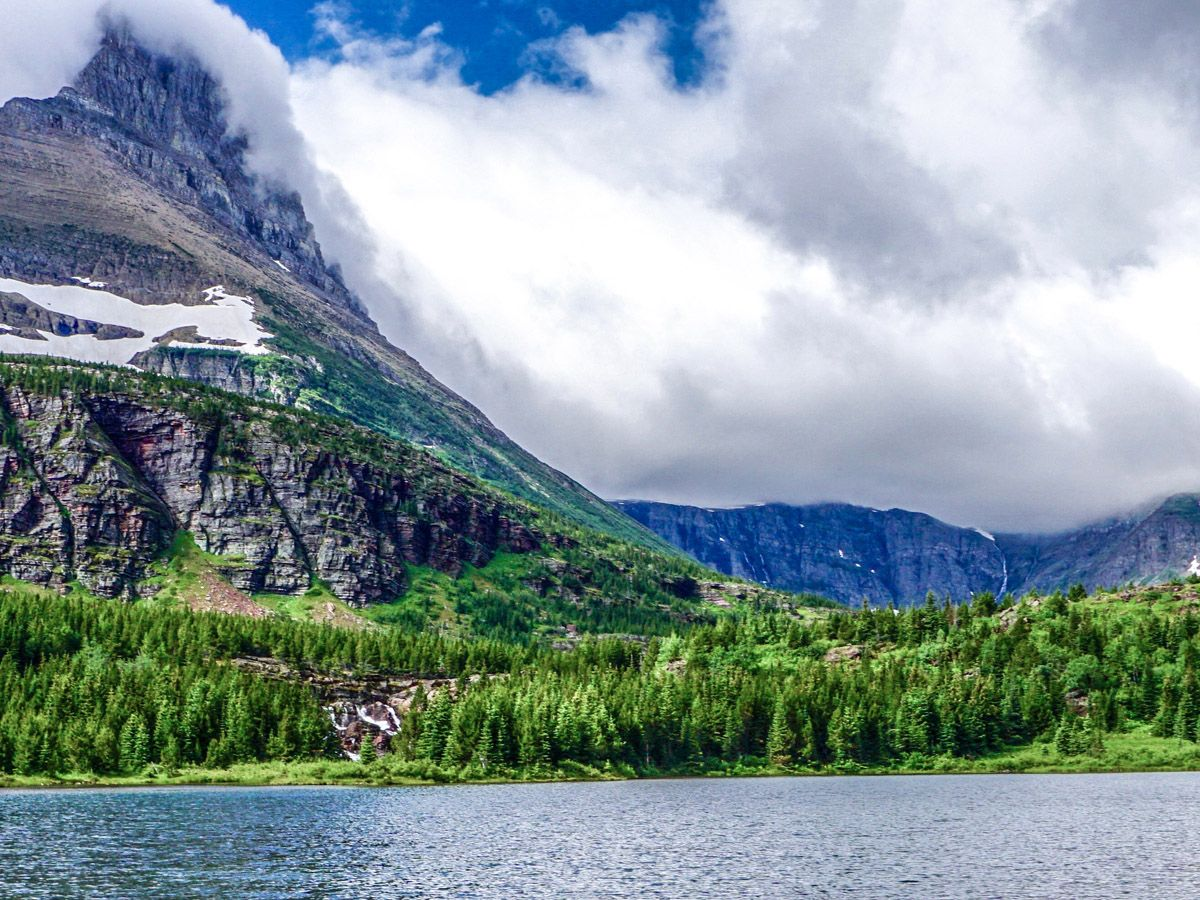 Swiftcurrent Pass trail is one of 10 best hikes in Glacier National Park, Montana