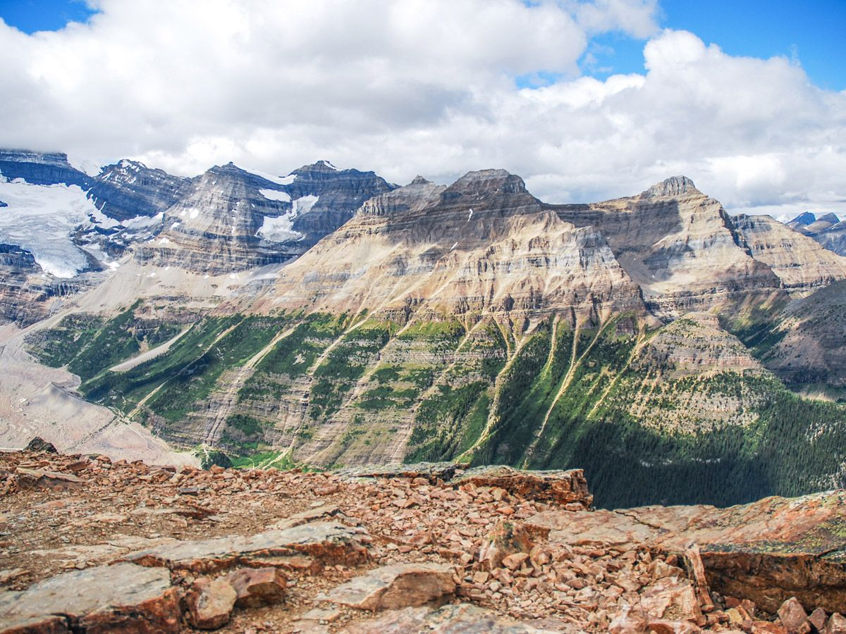 Mount Fairview Summit Hike in Lake Louise (Banff National Park) has amazing mountain views