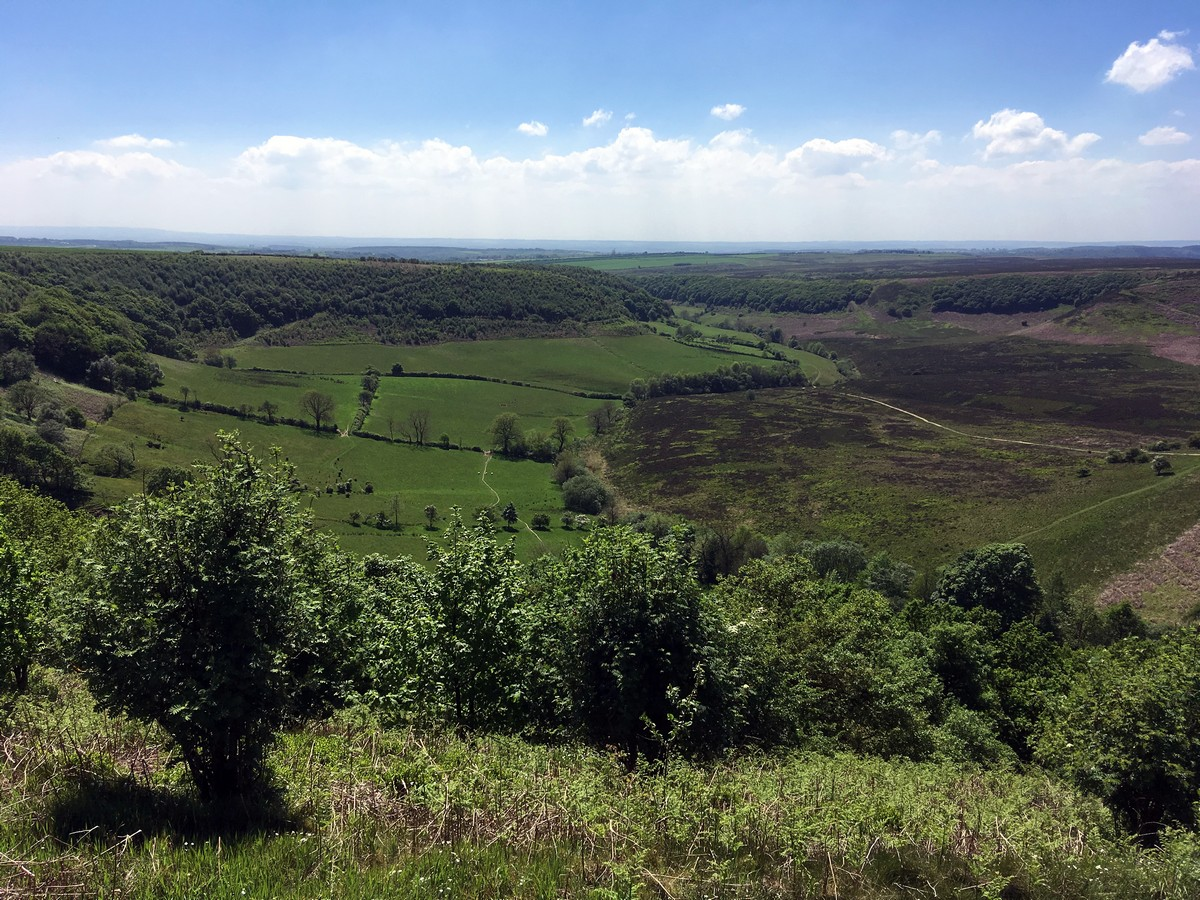 Hole of Horcum Hike in North York Moors, England