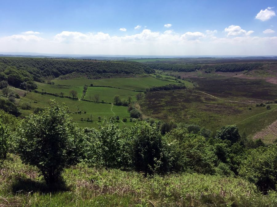Hole of Horecum walk is one of top 10 hikes in North York Moors, England