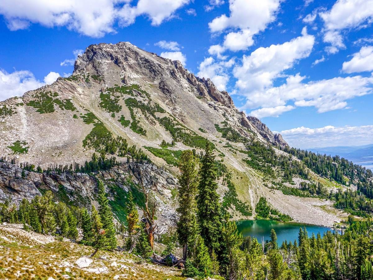 Paintbrush Divide hike is one of 10 best hikes in Grand Tetons