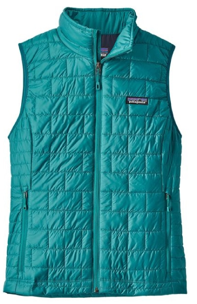 Patagonia Nano Puff Vest for women is one of our favorite mid-layer vests