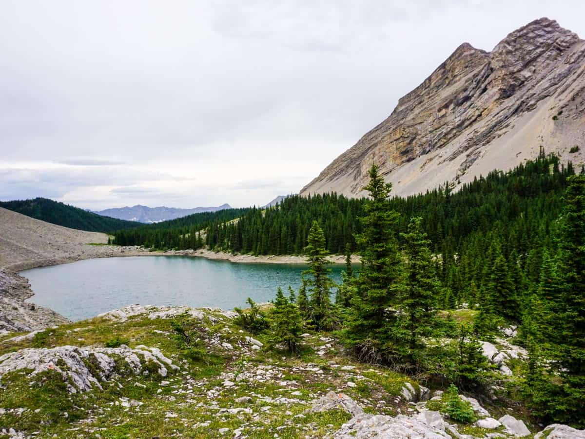 Great scenery from the Picklejar Lakes Hike in Kananaskis, near Canmore