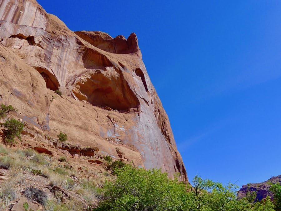 Portal Overlook hike is one of top 10 best hikes around Moab and Arches National Park