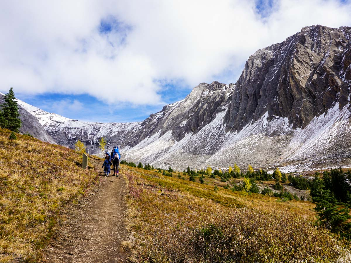Great views from the Ptarmigan Cirque Hike in Kananaskis, near Canmore