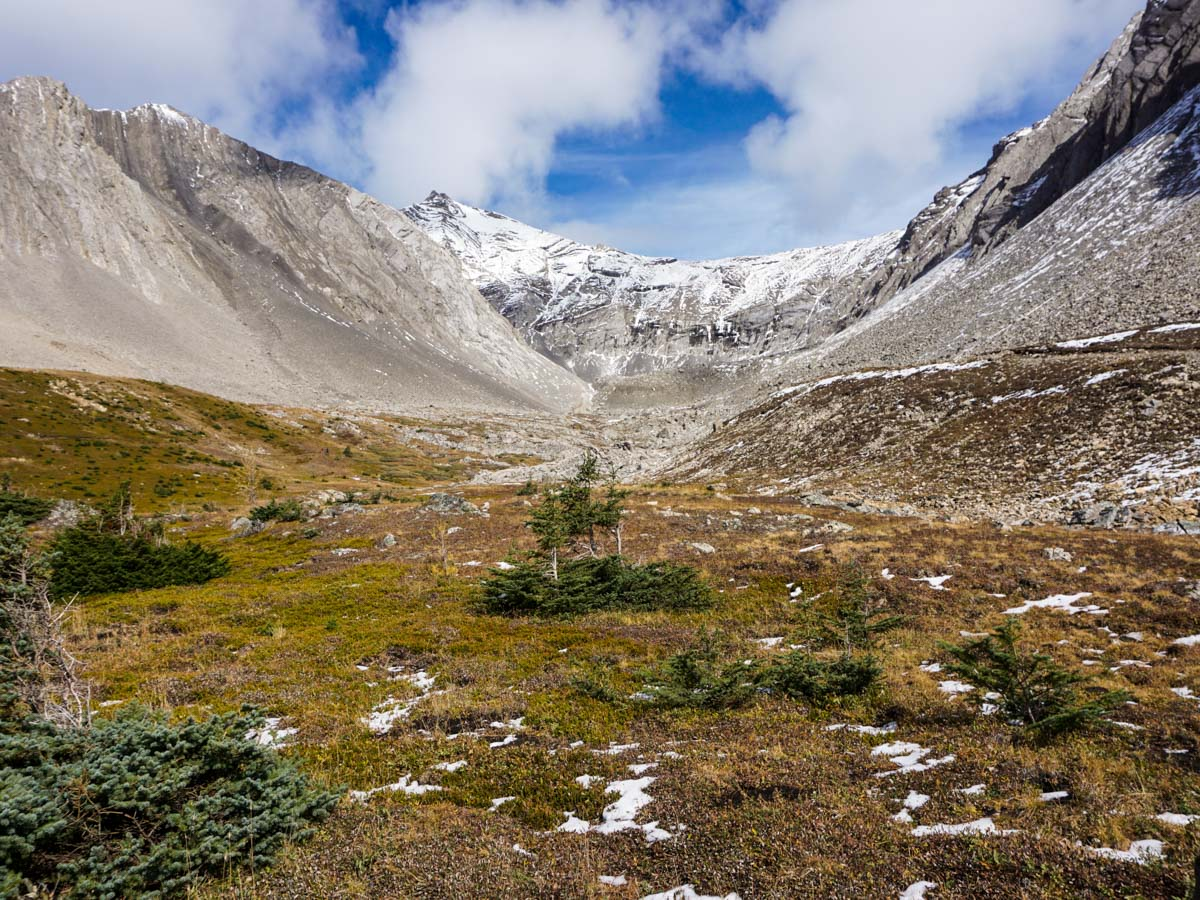 The views from the Ptarmigan Cirque Hike in Kananaskis, near Canmore