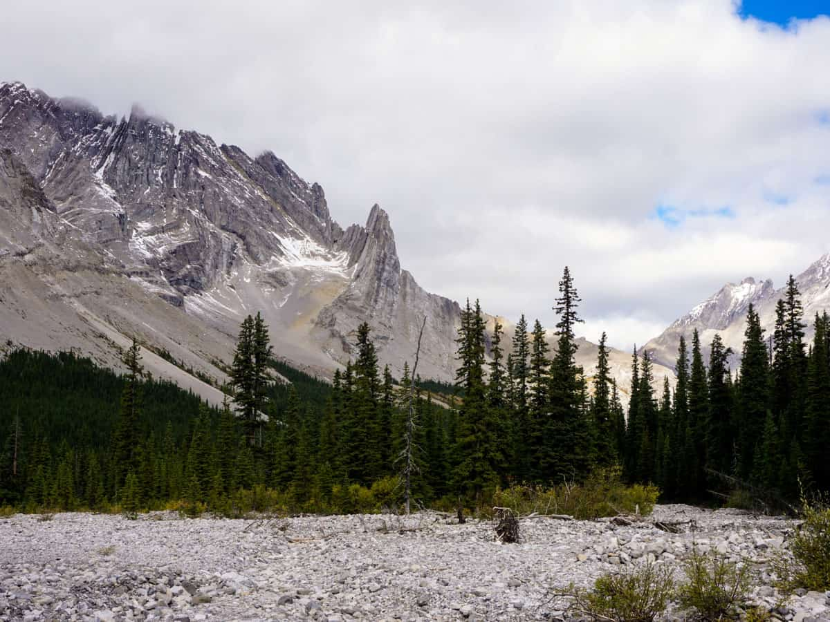 Views from the Rae Glacier Hike in Kananaskis, near Canmore