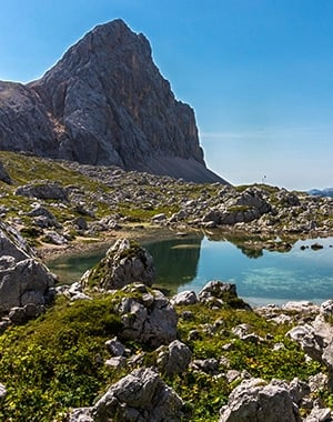 The Valley of the Seven Lakes hike in Julian Alps, Slovenia