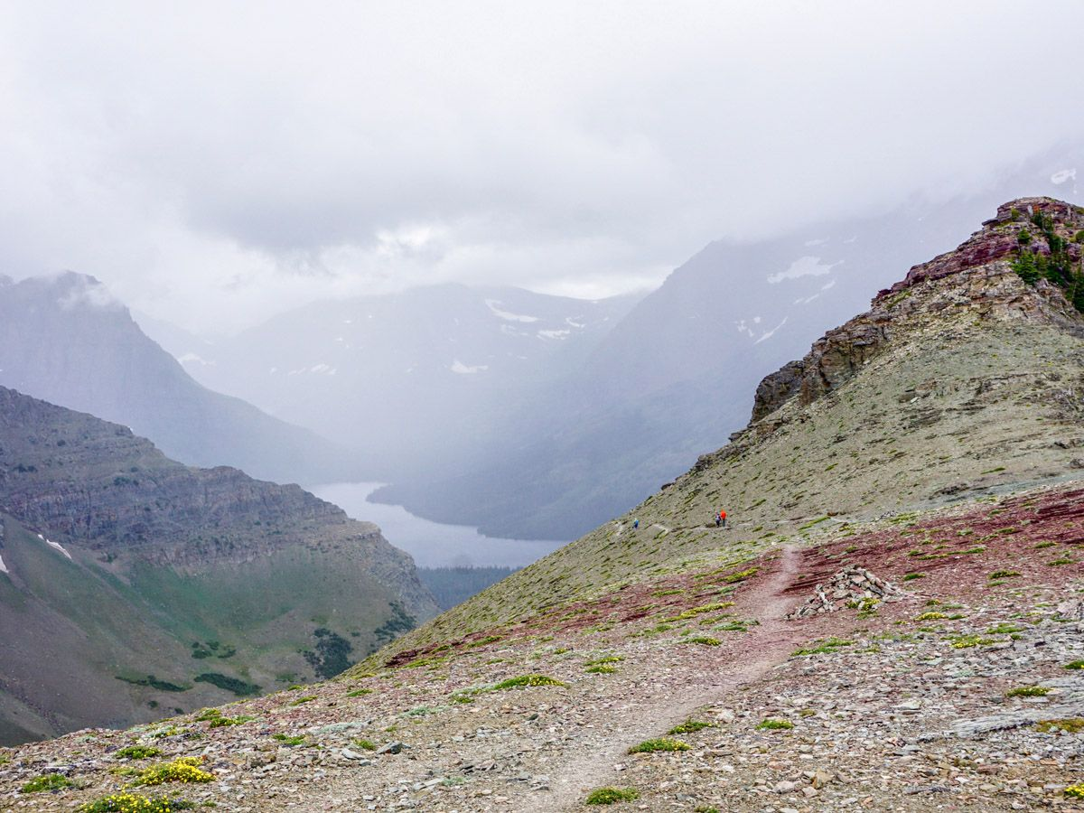 Scenic Point Hike in Glacier National Park rewards with amazing panorama