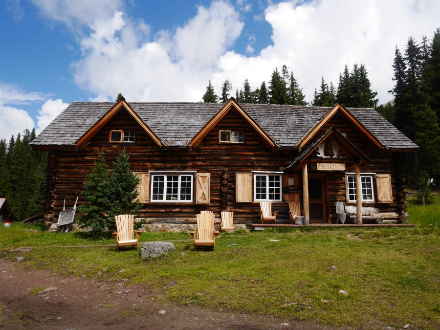 Great idea for camping in Banff National Park is staying in Skoki Lodge