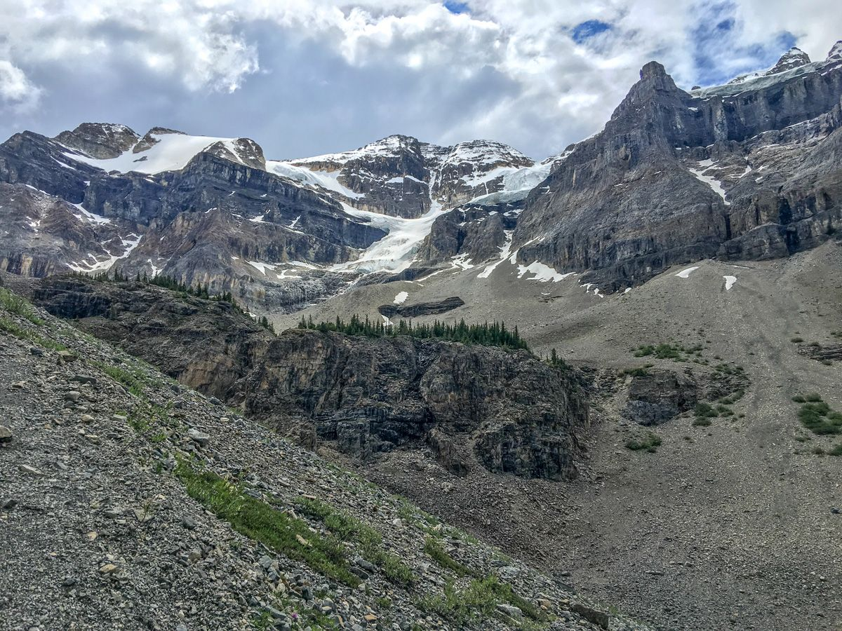 Mountains around the Stanley Glacier Hike in Kootenay National Park, Canadian Rocky Mountains
