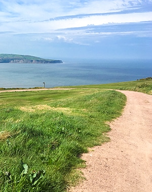Ravenscar and Robin Hood's Bay walk in North York Moors, England