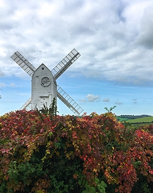 Hassocks to Lewes walk in South Downs, England
