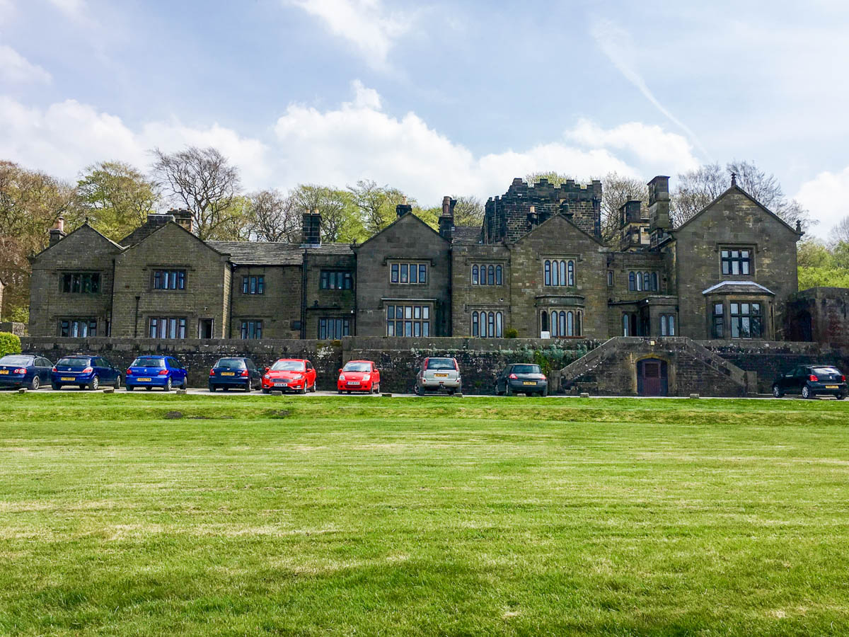 The lodge on the Padley Gorge Hike in Peak District, England