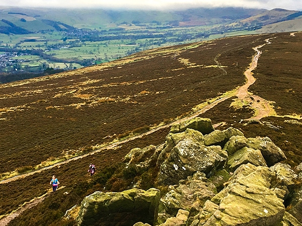 Trail of the Great Ridge and Win Hill hike in Peak District, England