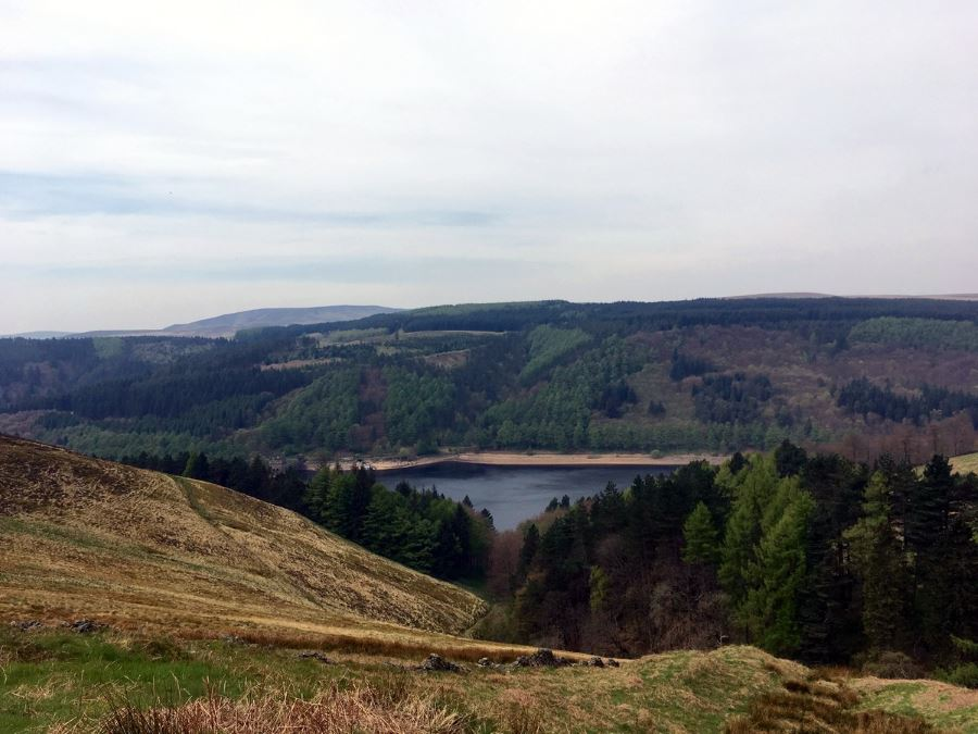 Derwent Edge hike is one of top 10 hikes in Peak District, England