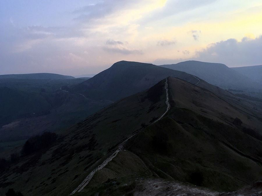 The Great Ridge hike is one of top 10 hikes in Peak District, England