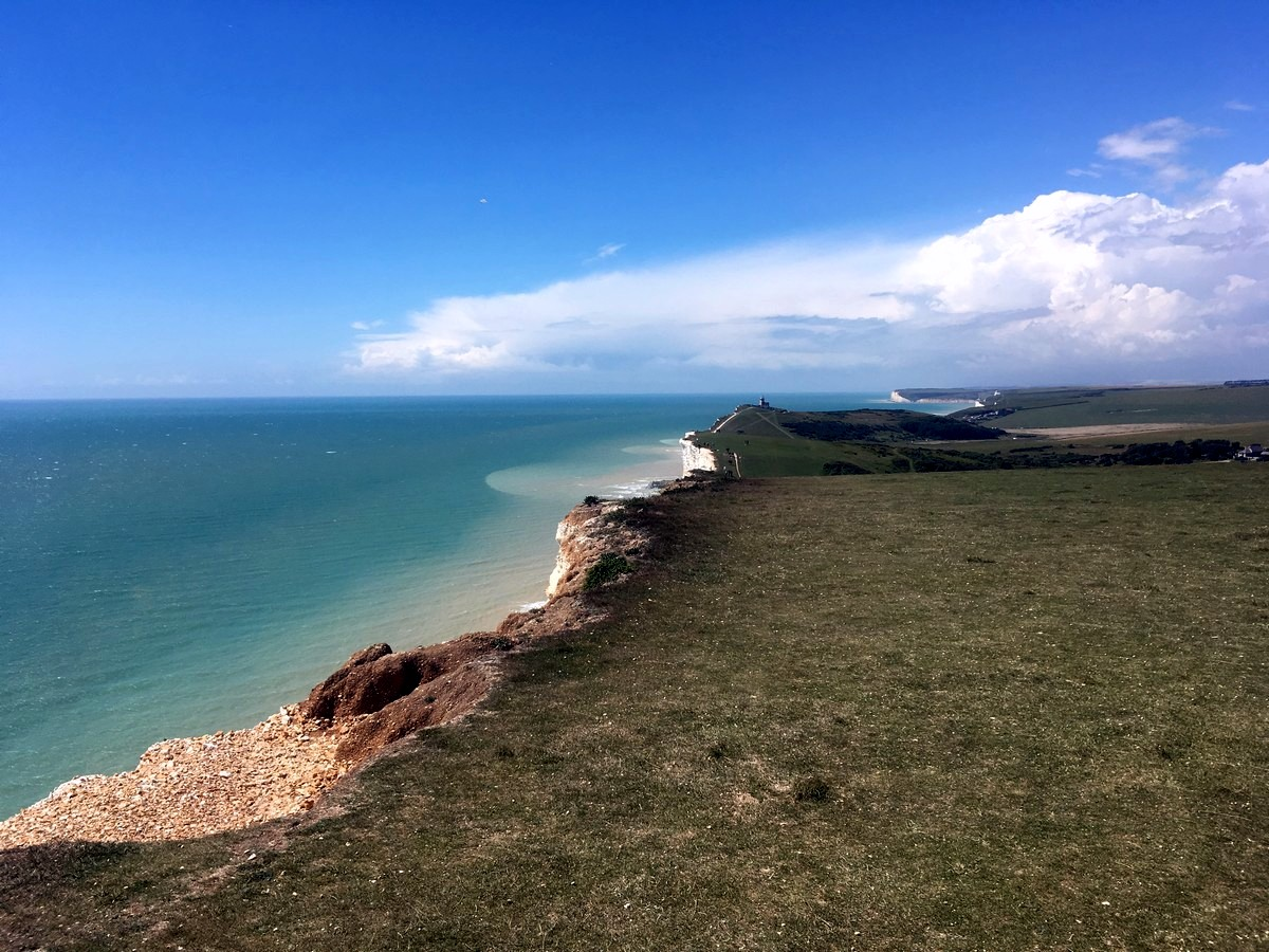 Beachy Head hike in South Downs take you to the beautiful shore