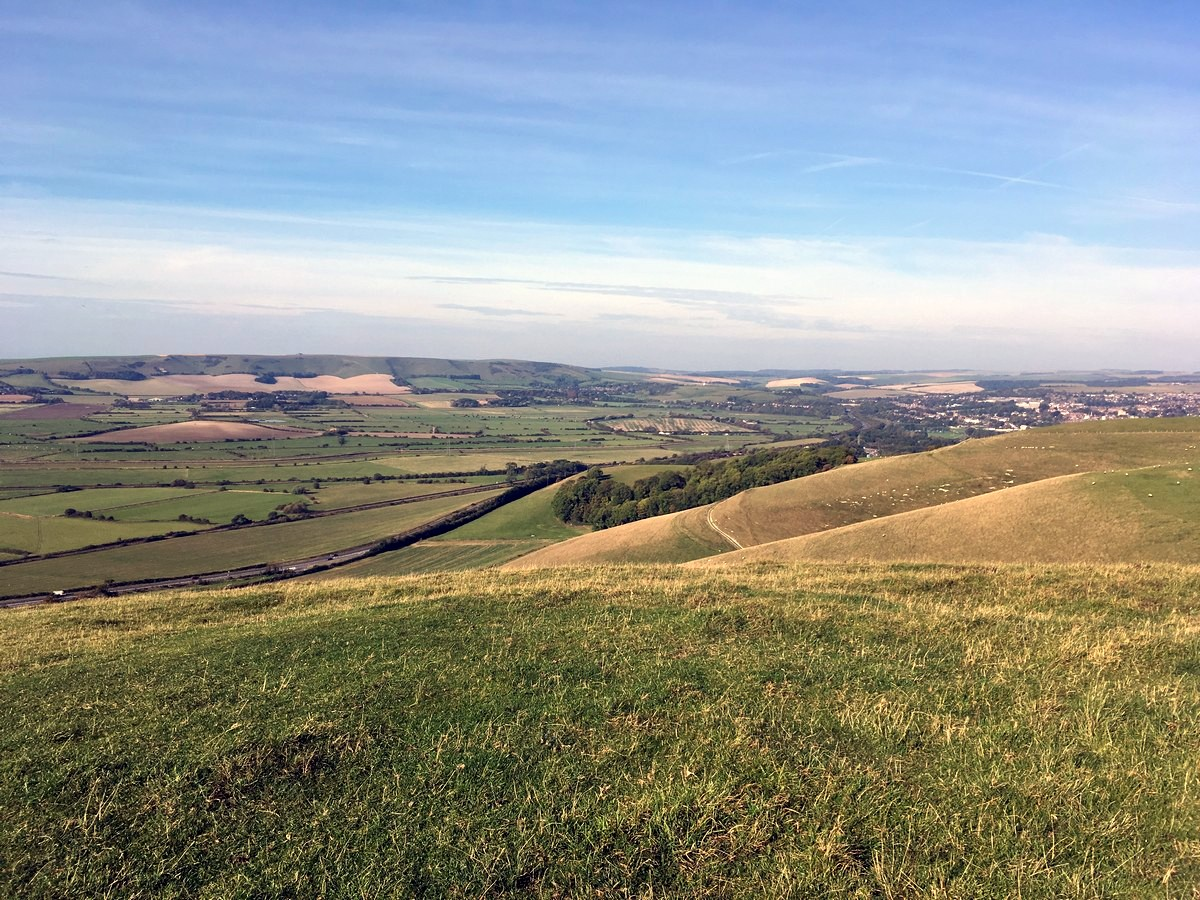 Views from the top of Mount Caburn