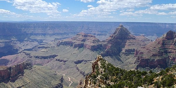 Scenery from the Cape Final hike in Grand Canyon National Park, Arizona