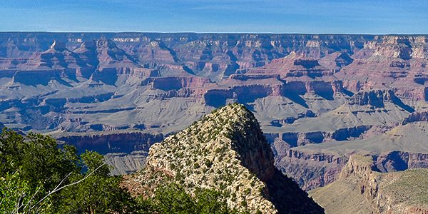 Scenery from the Grandview Trail hike in Grand Canyon National Park, Arizona