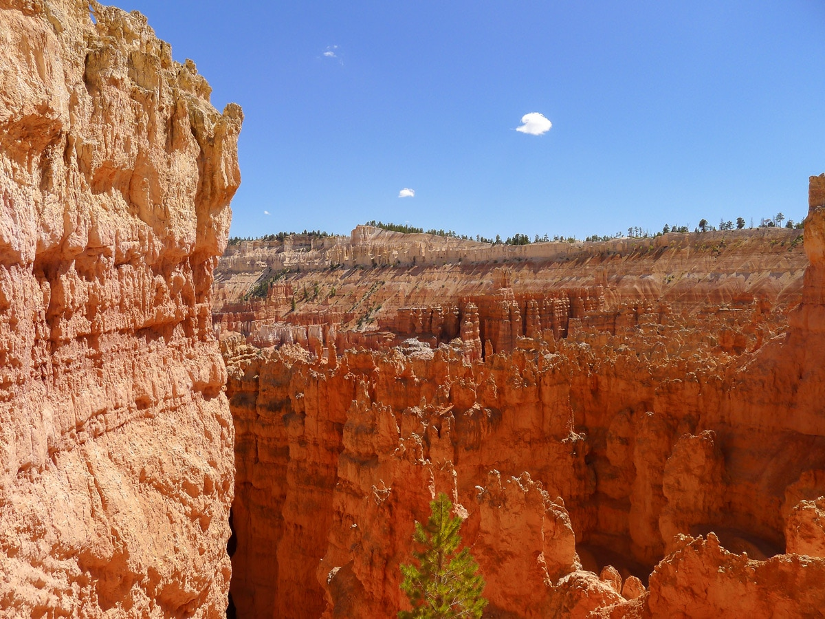 Great views on Queens Garden to Navajo Loop trail hike in Bryce Canyon National Park