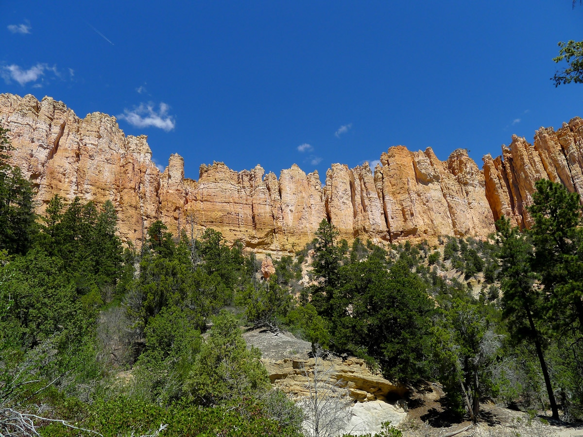 Swamp Canyon trail hike in Bryce Canyon National Park has beautiful canyon views