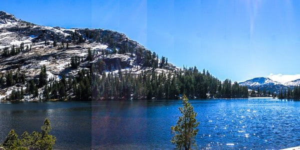 Cathedral Lakes hike in Yosemite National Park