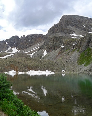 Cathedral Lake hike in Aspen, Colorado