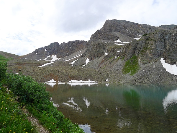 Views from the Cathedral Lake hike in Aspen, Colorado