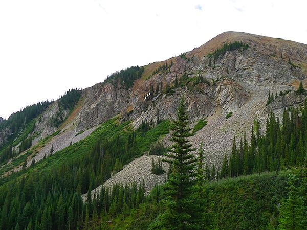 Scenic views from the Electric Pass hike in Aspen, Colorado