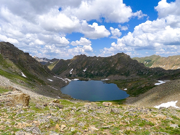 Scenery from the Lost Man Trail hike in Aspen, Colorado
