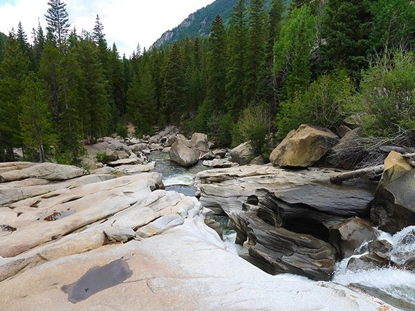 The Grottos Loop hike near Aspen, Colorado