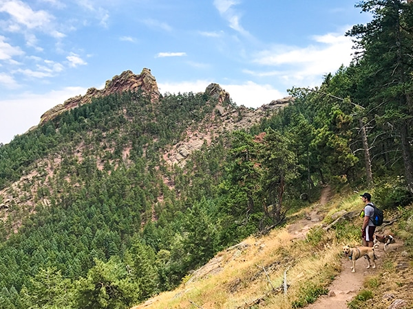 Views from the Green Mountain hike near Boulder, Colorado