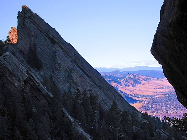 Trail of the Royal Arch hike in Boulder, Colorado