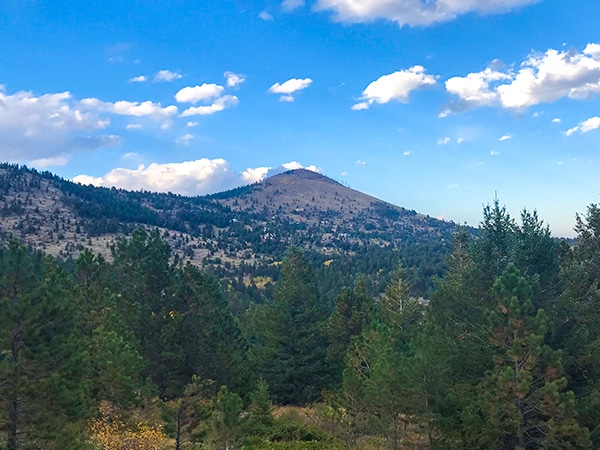 Trail of the Sugarloaf Mountain hike in Boulder, Colorado