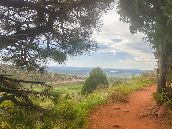 Scenery from the Matthew/Winters Park hike in Denver, Colorado