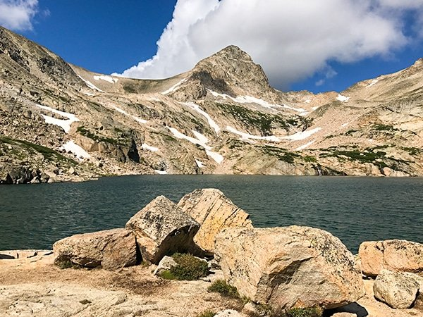 Blue Lake Trail hike in Indian Peaks, Colorado