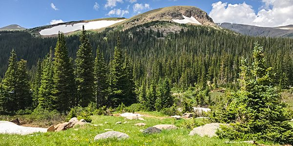 Trail of the Long Lake hike in Indian Peaks, Colorado